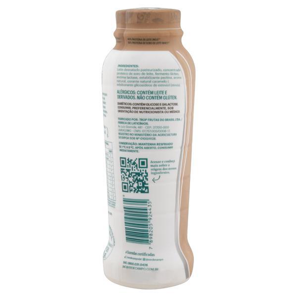 Iogurte Desnatado Cookies & Cream Zero Lactose Verde Campo Natural Whey 14g de Proteína Frasco 250g