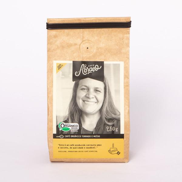 Café Orgânico produtora Josilene, Torrado e Moído 250g - Café Abraço