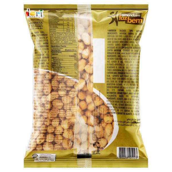 Amendoim Japonês Dori Pacote 500g