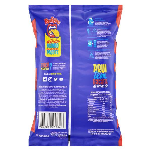Batata Frita Ondulada Churrasco Elma Chips Ruffles Pacote 57g