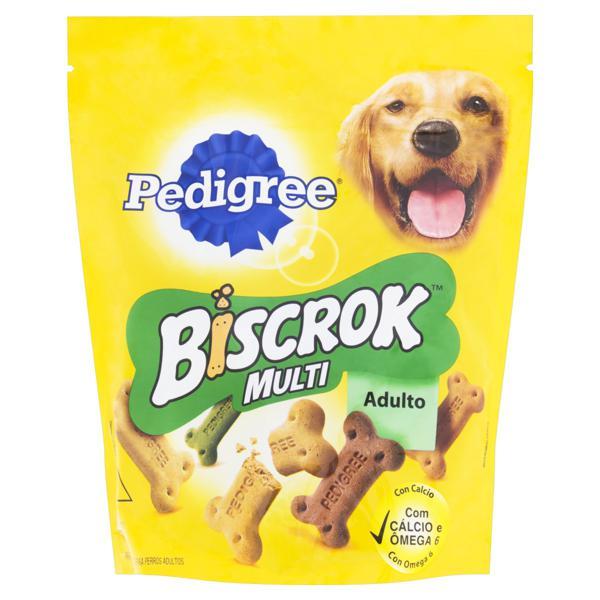 Petisco para Cães Adultos Pedigree Biscrok Multi Sachê 500g
