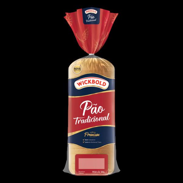 Pão de Forma Tradicional Wickbold Pacote 500g