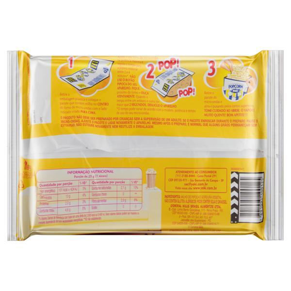 Pipoca para Micro-Ondas Natural Yoki Pacote 100g