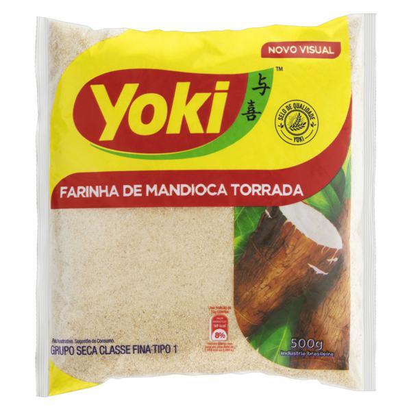 Farinha de Mandioca Tipo 1 Torrada Yoki Pacote 500g
