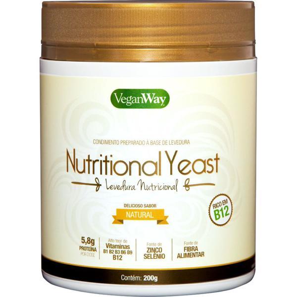 Levedura nutricional sabor manteiga 200g - VeganWay