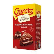 Chocolate em Pó GAROTO 50% Cacau 200g