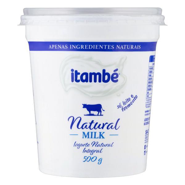 Iogurte Integral Natural Itambé Milk Pote 500g