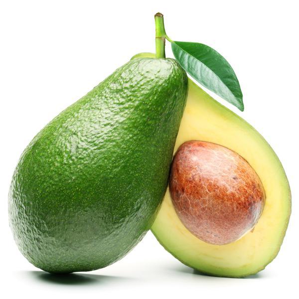 Abacate ( 2 unid)  tam: pequeno (podem ir verdes)