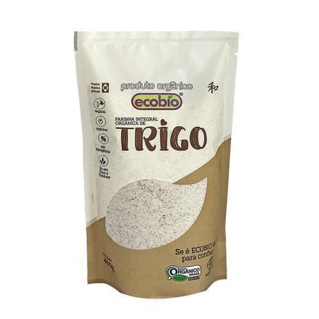Farinha de Trigo Integral ( 400g) Orgânica