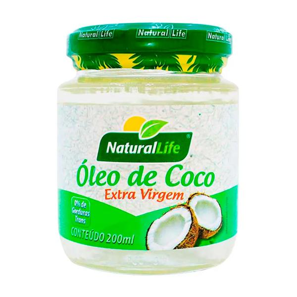 Óleo de Coco Natural Life 200Ml