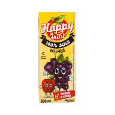 Suco HAPPY FRUIT Uva 200ml