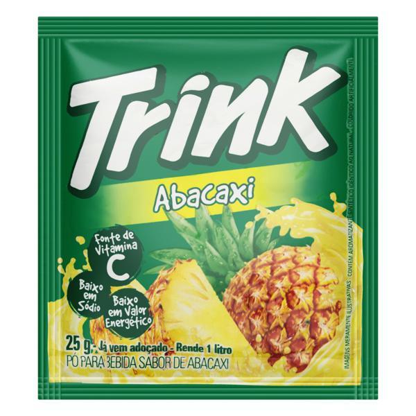 Refresco em Pó Abacaxi Trink Pacote 25g
