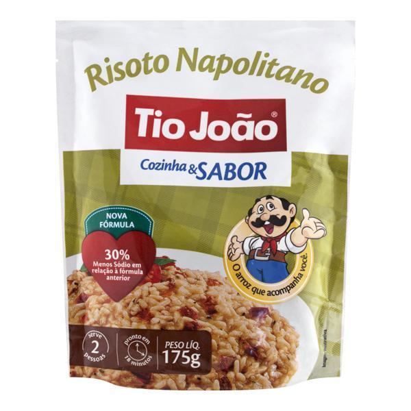 Risoto Semipronto Napolitano Tio João Cozinha & Sabor Sachê 175g