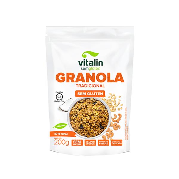Granola Tradicional Integral Sem Glúten (200g)