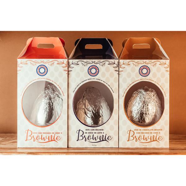 Combo Páscoa Recheada - 4 Ovos de Páscoa por R$150