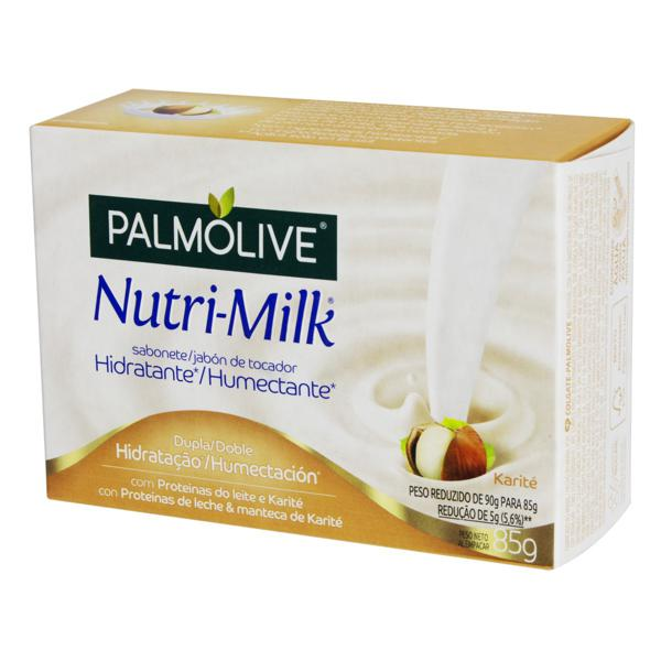 Sabonete em Barra Hidratante Karité Palmolive Nutri-Milk Caixa 85g