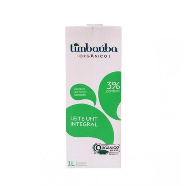 Leite Orgânico UHT Integral  1 litro  - Timbaúba