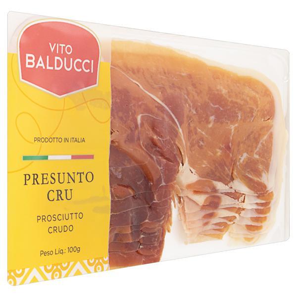 Presunto Cru Fatiado Vito Balducci 100g