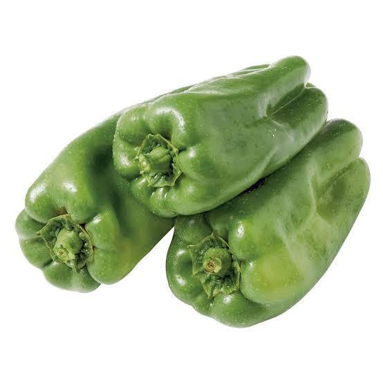 Pimentão verde orgânico (500g)