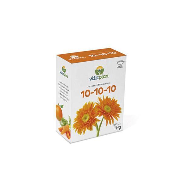 Fertilizante 10-10-10 Nutrplan 1Kg Ref 8000108-U