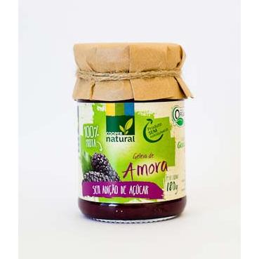 Geléia de Amora sem Açúcar Coopernatural 180g