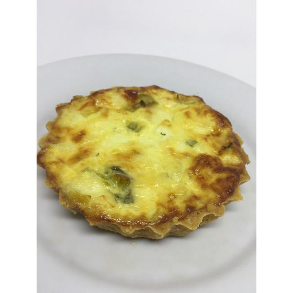 Quichés Individuais (queijo ou queijo com linguiça)