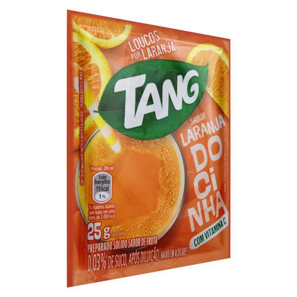 Refresco em Pó Laranja Docinha Tang Pacote 25g