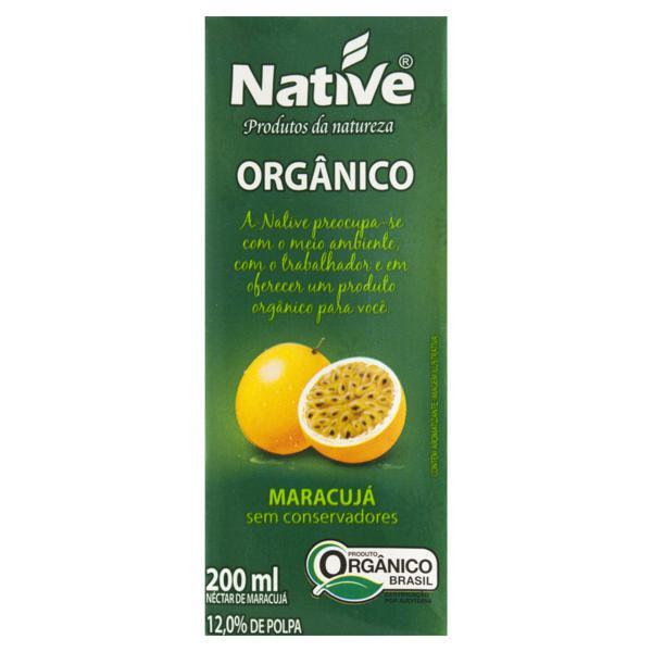 Néctar Orgânico Maracujá Native Caixa 200ml