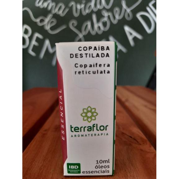 Óleo Essencial Copaíba Destilada 10ml TERRA-FLOR