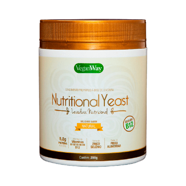 Levedura nutricional natural 200g - VeganWay