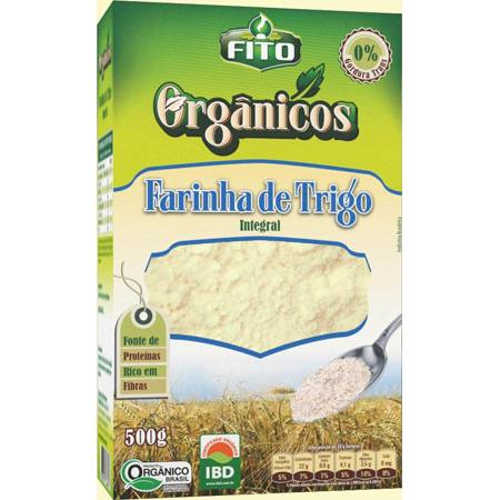 Farinha de Trigo Integral Fito 500g