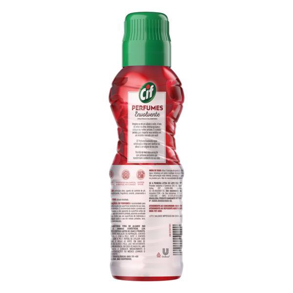 Limpador Uso Geral Envolvente Cif Perfumes Frasco 450ml