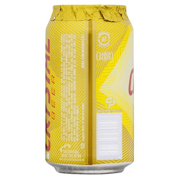 Cerveja Pilsen Crystal Lata 350ml