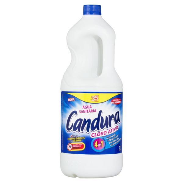 Água Sanitária Candura Frasco 2l