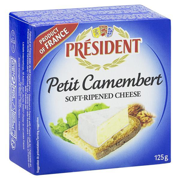 Queijo Camembert Président 125g