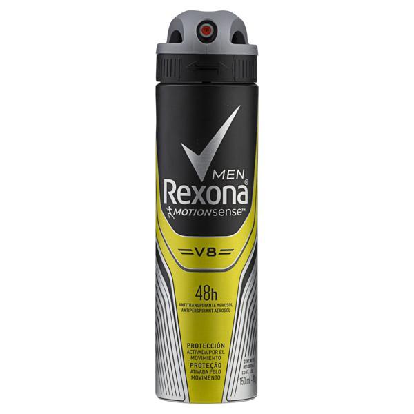 Antitranspirante Aerossol V8 Rexona Men Motionsense 150ml