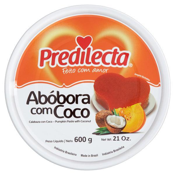 Doce de Abóbora com Coco Predilecta Lata 600g