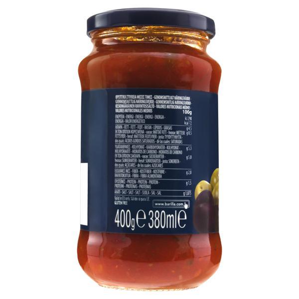 Molho de Tomate Olive Barilla Vidro 400g