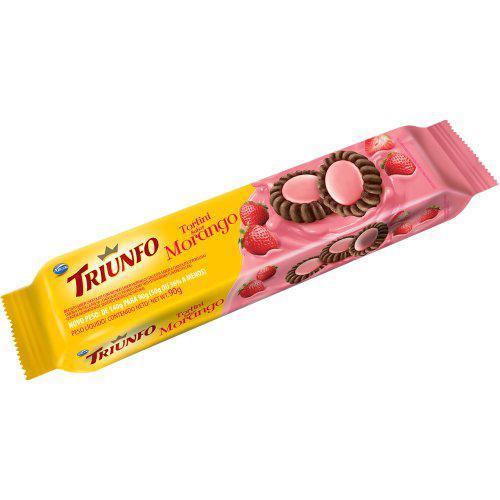 Biscoito Tortini TRIUNFO Torta Morango 90g