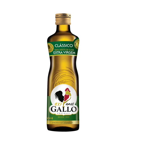 Azeite De Oliva Gallo Extra Virgem 0,5% 500Ml Vidro
