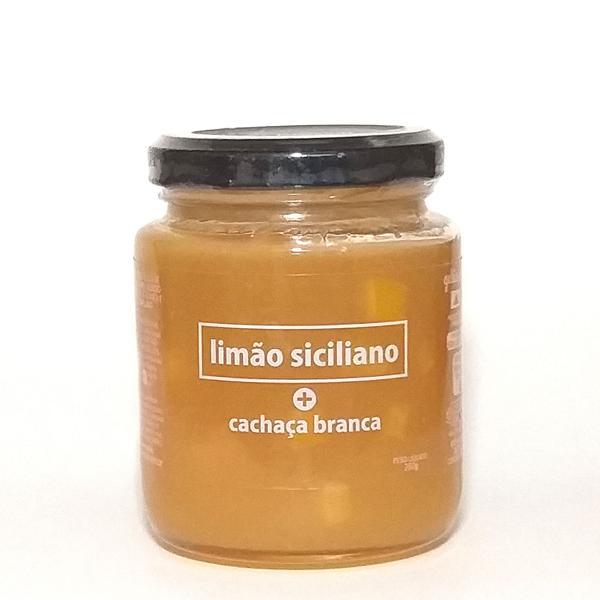 Geleia de Limão Siciliano e Cachaça 260g - Expressar Gourmet