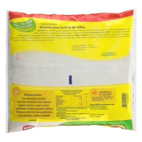 Farinha de Milho Branca Yoki Pacote 500g