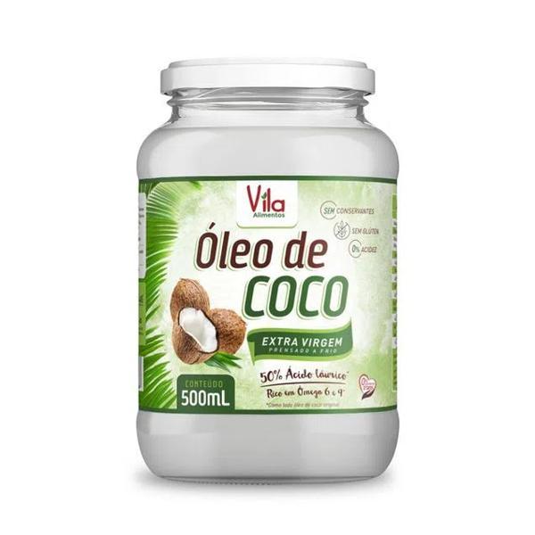 Óleo de Coco Vila Ervas Extra Virgem 500Ml