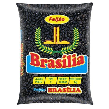 Feijão BSB Preto 1Kg