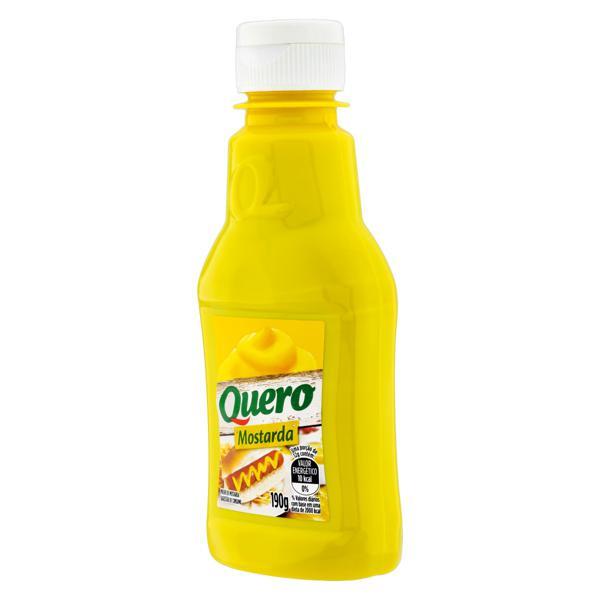 Mostarda Amarela Quero Squeeze 190g