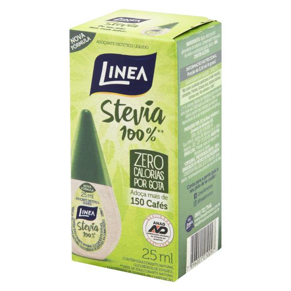 Adoçante Líquido Stevia Linea Caixa 25ml