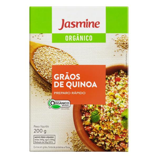 Quinoa em Grãos Orgânica Jasmine Caixa 200g
