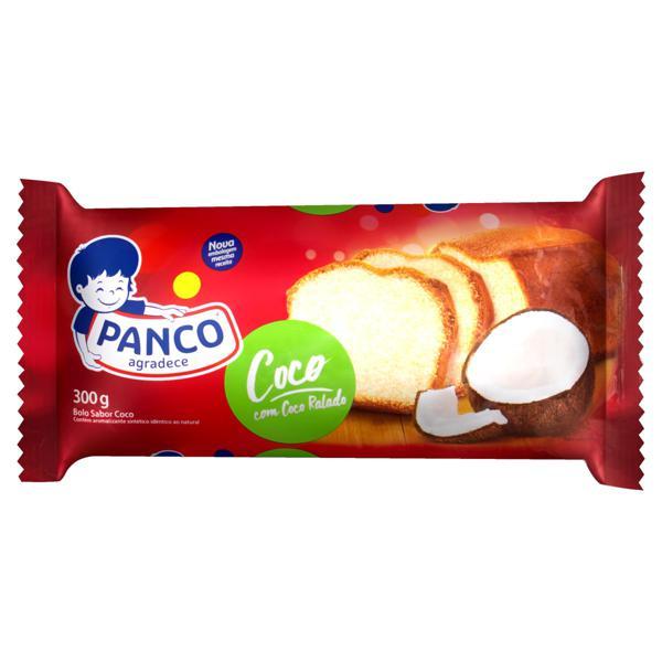 Bolo Coco Panco Pacote 300g