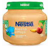 Alimento Infantil NESTLÈ Banana e Maçã 120g