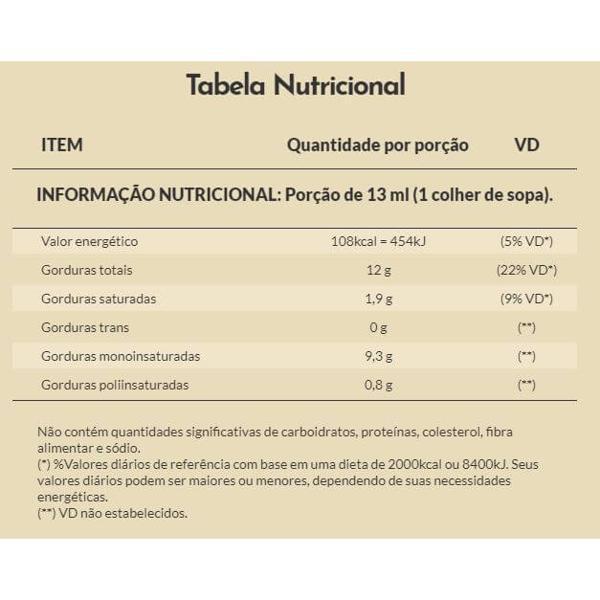 Azeite Extra Virgem Orgânico Andorinha 500ml